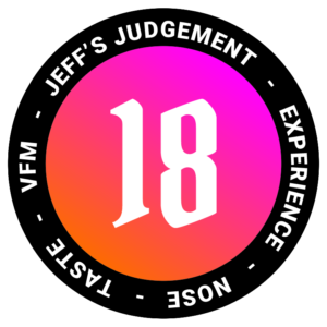 18 out of 24 Jeffs - Jeff Whisky Rating