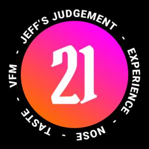 21 out of 24 Jeffs - Jeff Whisky Score